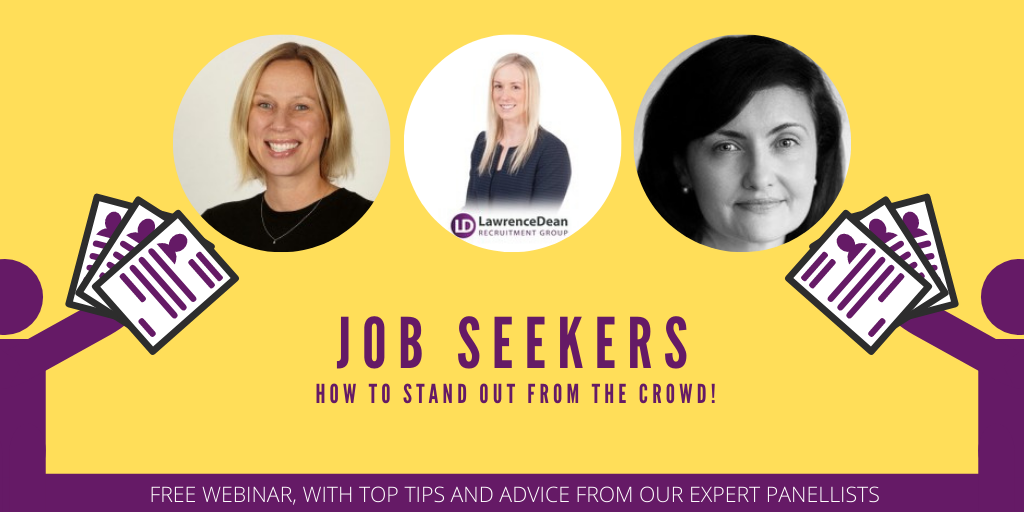 Webinar: Jobseekers - How to Stand Out From the Crowd